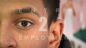 still from the video Education in2 Employment