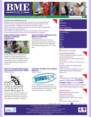 BME-Voice Newspaper site