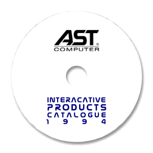 AST Computers Catalogue Disk